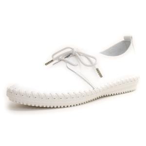 フラットシューズ  靴 レディース 歩きやすい レースアップ アンナコレクション|antelope|08