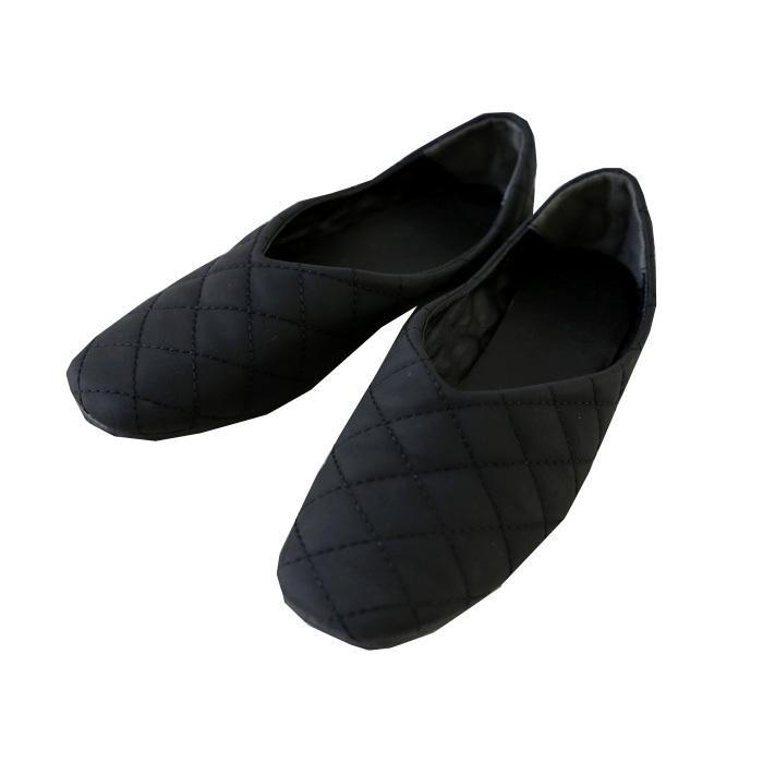 キルティングシューズ パンプス 痛くない 歩きやすい 靴・メール便不可 母の日|antiqua|19