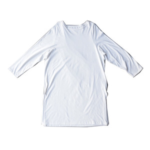 ワンピース レディース 半袖 Tシャツ 綿 綿100 Tシャツワンピ・6月20日20時〜発売。メール便不可 antiqua 23