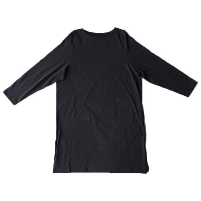 クリアランスバーゲン!期間限定開催!ワンピース レディース 半袖 Tシャツ 綿 綿100 Tシャツワンピ・再販。メール便不可(返品・キャンセル・交換不可)|antiqua|18