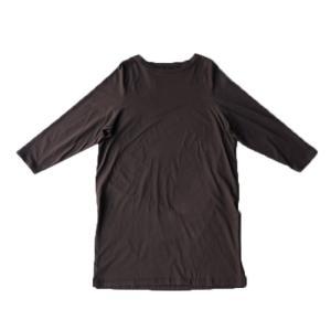ワンピース レディース 半袖 Tシャツ 綿 綿100 Tシャツワンピ・6月20日20時〜発売。メール便不可 antiqua 25