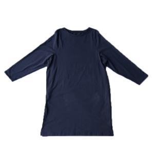 ワンピース レディース 半袖 Tシャツ 綿 綿100 Tシャツワンピ・6月20日20時〜発売。メール便不可 antiqua 24
