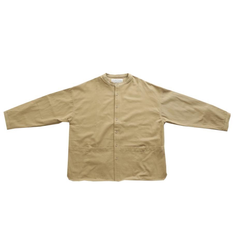 バンドカラーシャツ シャツ メンズ トップス 長袖 送料無料・9月24日10時〜発売。メール便不可 antiqua 20