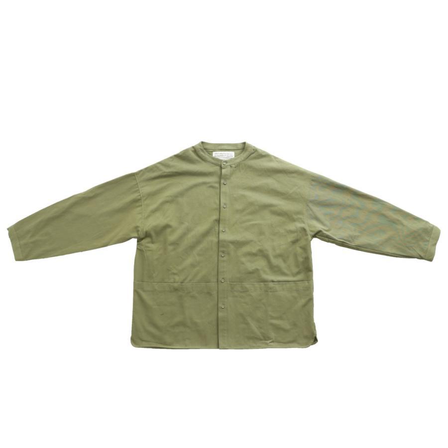 バンドカラーシャツ シャツ メンズ トップス 長袖 送料無料・9月24日10時〜発売。メール便不可 antiqua 21