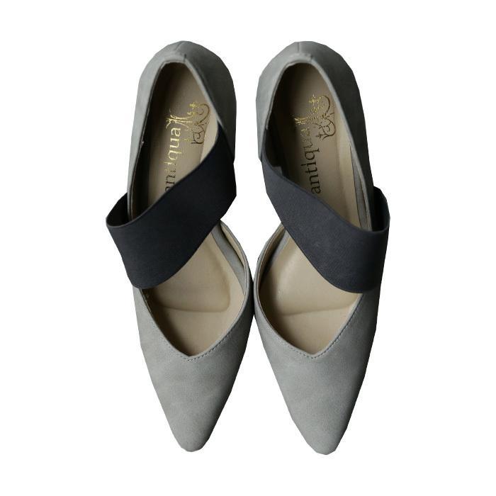 大人気商品!05番再入荷予定あり(再入荷ボタン登録でメールでお知らせ)靴 ゴア パンプス 歩きやすい ハイヒール ゴアパンプス 送料無料・再販。メール便不可 antiqua 23