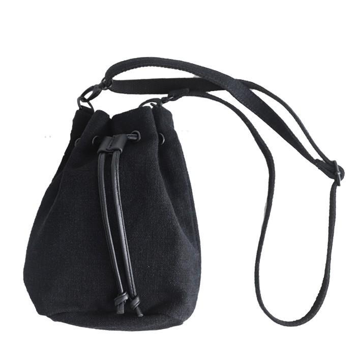 バッグ レディース 巾着 ショルダーバッグ ドロストバッグ リネン巾着バッグ・4月15日0時〜再販。メール便不可 母の日|antiqua|16