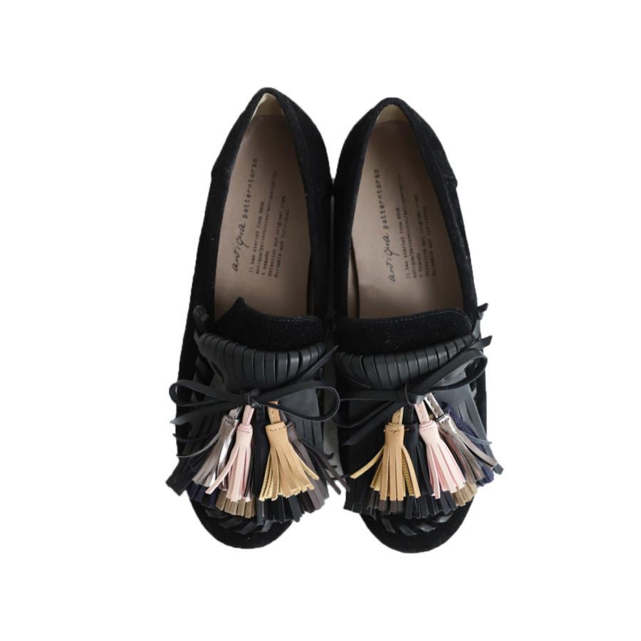 モカシン タッセル シューズ 靴 モカシンシューズ 送料無料。メール便不可 母の日 antiqua 18