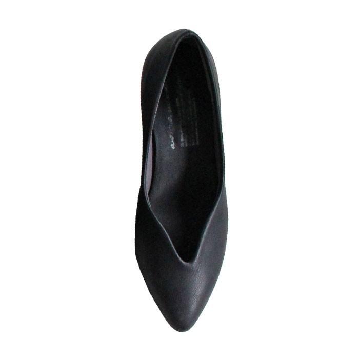 靴 合皮 パンプス オイル調 涙型 ティアドロップパンプス・再再販。メール便不可 母の日 antiqua 23