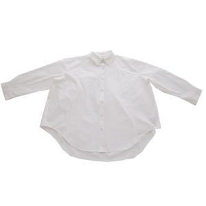 トップス シャツ 長袖 レディース 綿 綿100% 綿タックシャツ・6月13日20時〜再再販。100ptメール便可|antiqua|22