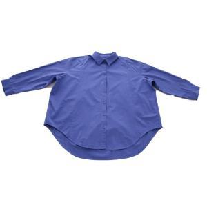 トップス シャツ 長袖 レディース 綿 綿100% 綿タックシャツ・6月13日20時〜再再販。100ptメール便可|antiqua|24