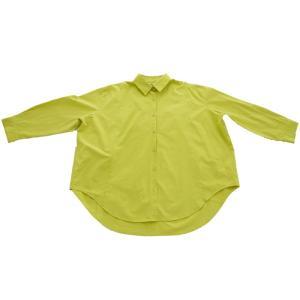 トップス シャツ 長袖 レディース 綿 綿100% 綿タックシャツ・6月13日20時〜再再販。100ptメール便可|antiqua|25