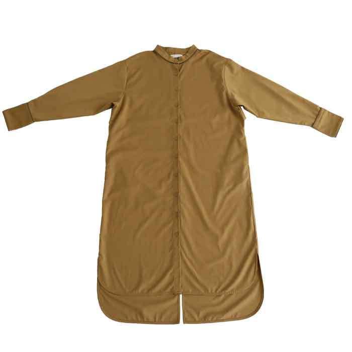トレンチ風ロングシャツ シャツ レディース 長袖 送料無料・再再販。メール便不可|antiqua|12