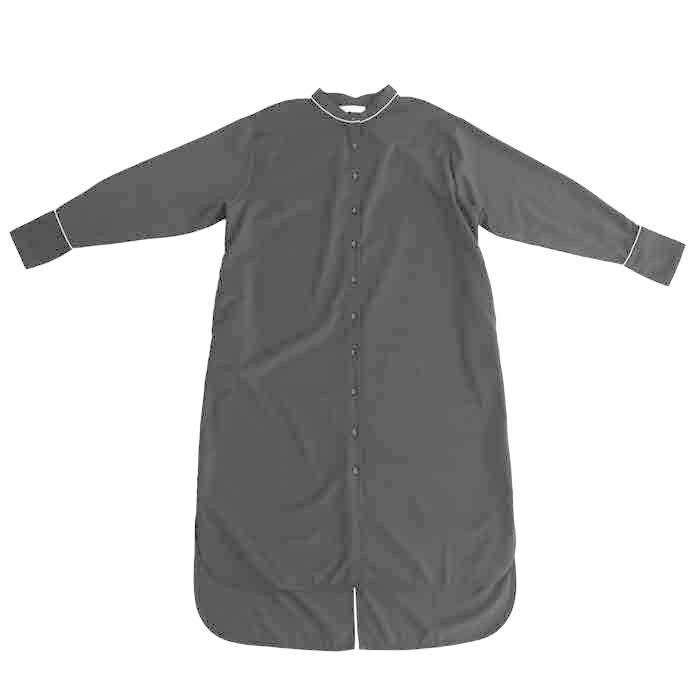 トレンチ風ロングシャツ シャツ レディース 長袖 送料無料・再再販。メール便不可|antiqua|13