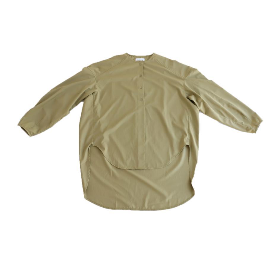 フロントスリットシャツ シャツ レディース 長袖 送料無料・再再販。メール便不可 antiqua 18
