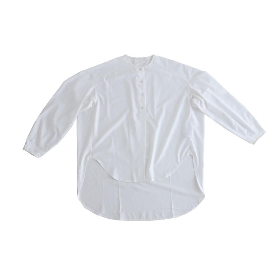 フロントスリットシャツ シャツ レディース 長袖 送料無料・再再販。メール便不可 antiqua 19