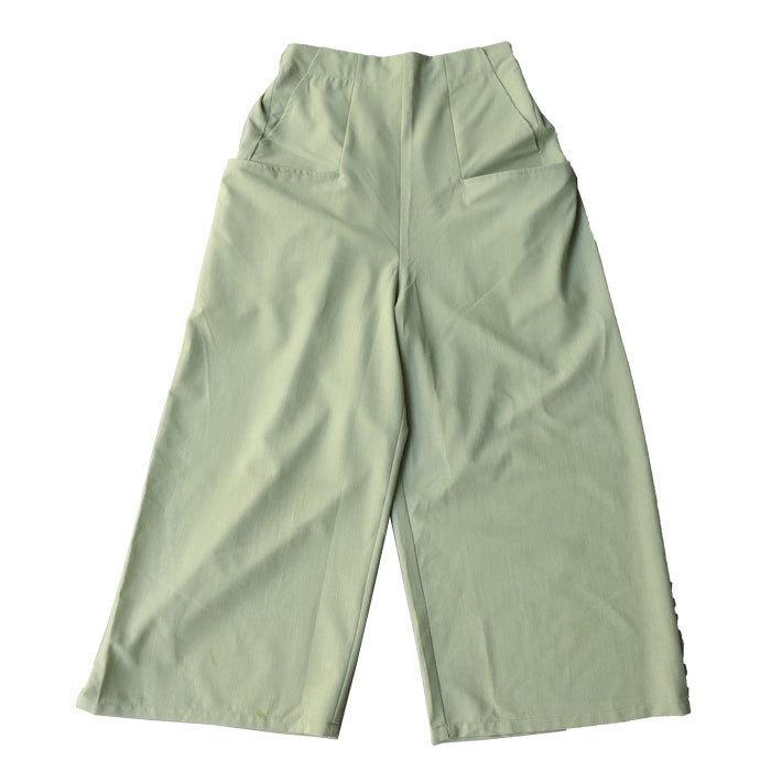 ポケットデザインパンツ パンツ レディース ロング 送料無料・再再販。メール便不可|antiqua|16