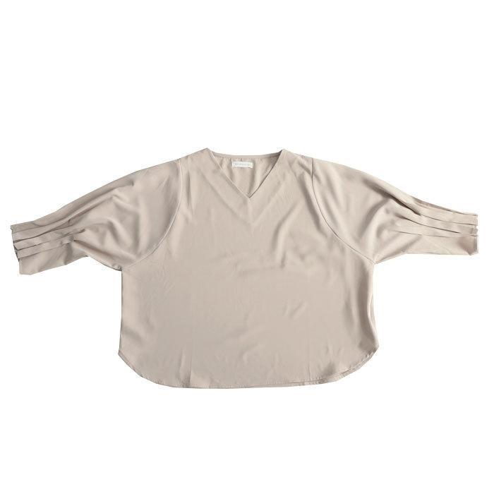 袖プリーツブラウス レディース トップス ブラウス 送料無料・再再販。メール便不可|antiqua|18