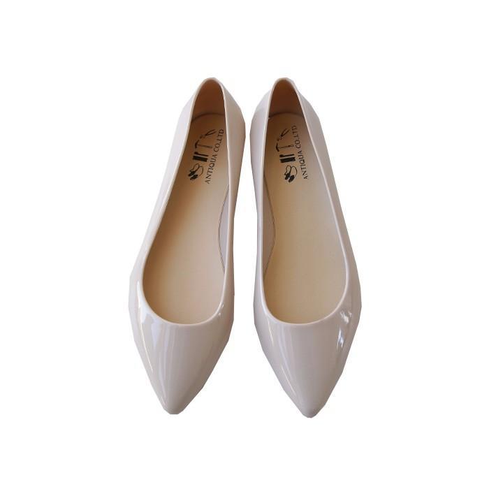 レインシューズ 靴 レディース シューズ パンプス レイン 雨の日 防水・メール便不可 母の日|antiqua|17