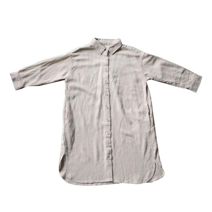 シャツ ワンピース キッズ 麻レーヨン 風合い・再再販。メール便不可TOY antiqua 23