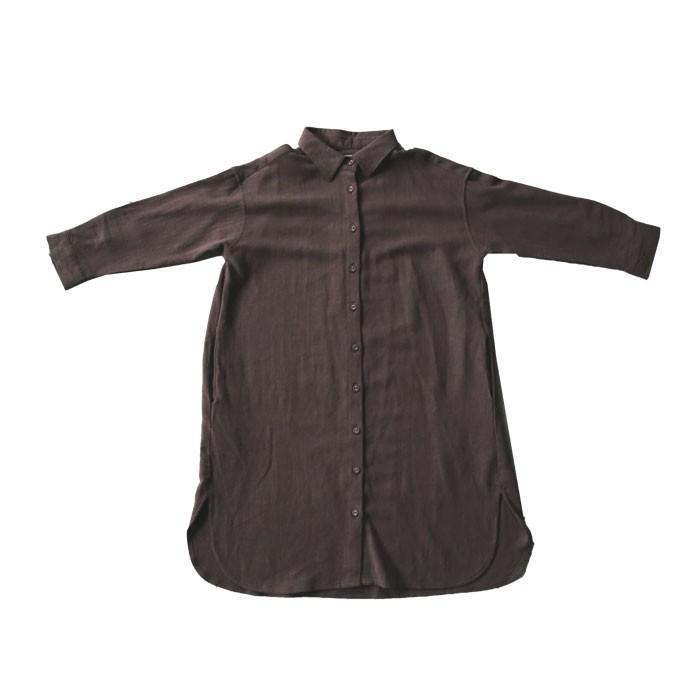 シャツ ワンピース キッズ 麻レーヨン 風合い・再再販。メール便不可TOY antiqua 22