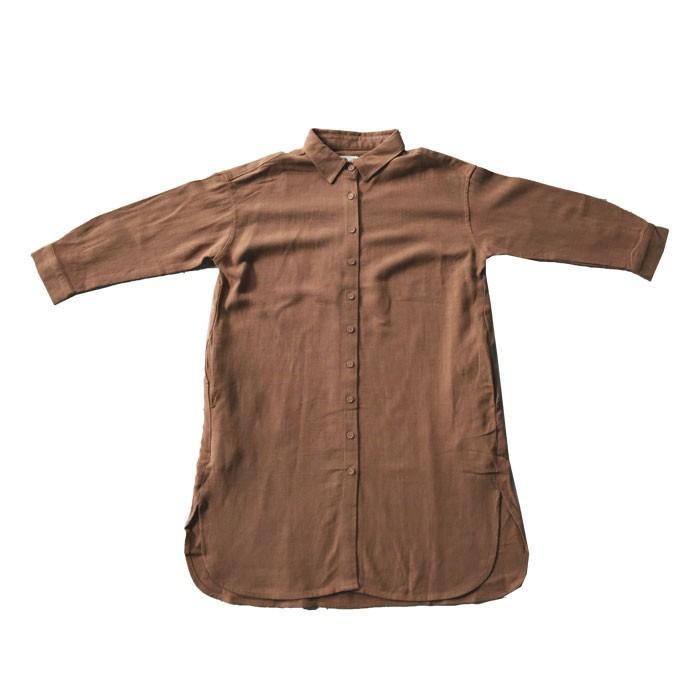 シャツ ワンピース キッズ 麻レーヨン 風合い・再再販。メール便不可TOY antiqua 25
