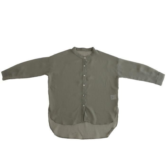 シアーシャツ シャツ キッズ トップス 長袖 ロング・再再販。メール便不可 TOY antiqua 24