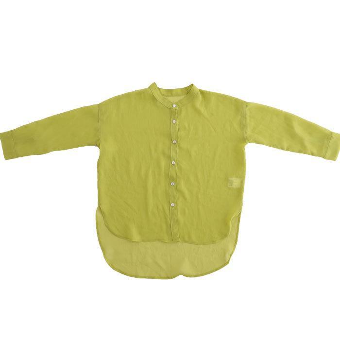 シアーシャツ シャツ キッズ トップス 長袖 ロング・再再販。メール便不可 TOY antiqua 26