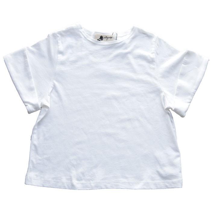 キッズトップス トップス プルオーバー Tシャツ 折返しスリーブデザインTシャツ・再再販。メール便不可TOY|antiqua|24