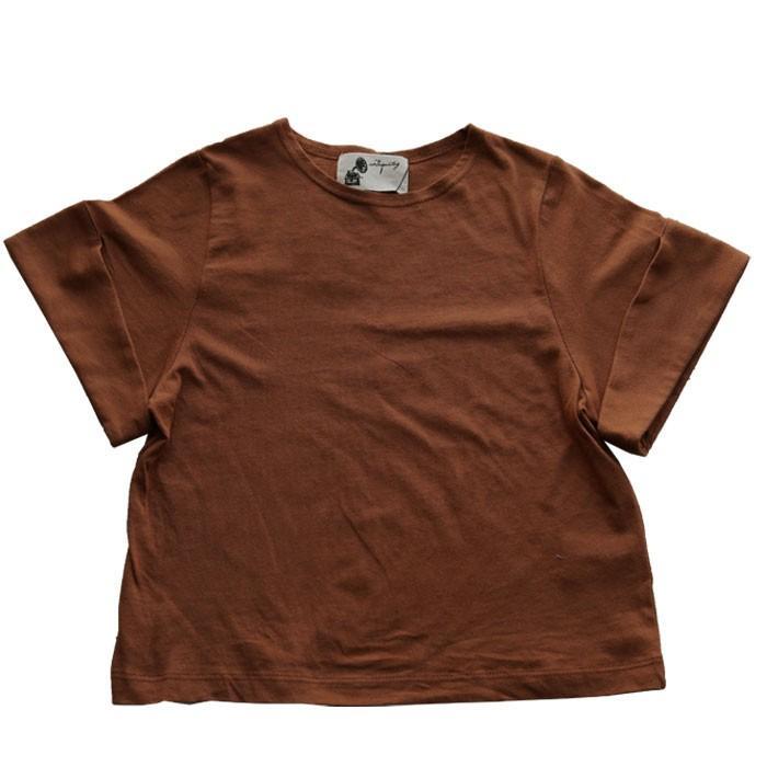 キッズトップス トップス プルオーバー Tシャツ 折返しスリーブデザインTシャツ・再再販。メール便不可TOY|antiqua|27