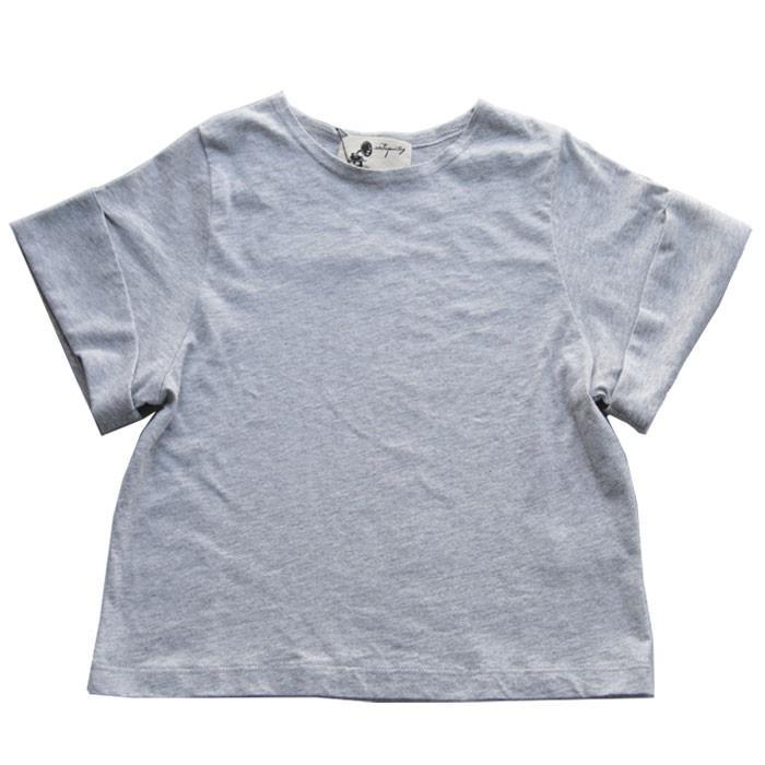 キッズトップス トップス プルオーバー Tシャツ 折返しスリーブデザインTシャツ・再再販。メール便不可TOY|antiqua|23