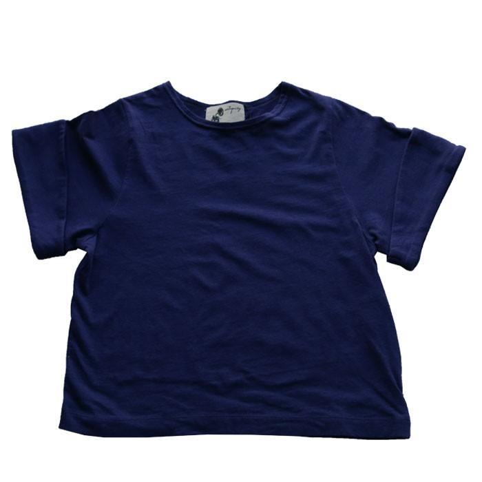 キッズトップス トップス プルオーバー Tシャツ 折返しスリーブデザインTシャツ・再再販。メール便不可TOY|antiqua|22