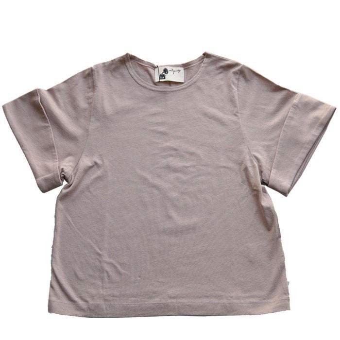 キッズトップス トップス プルオーバー Tシャツ 折返しスリーブデザインTシャツ・再再販。メール便不可TOY|antiqua|26