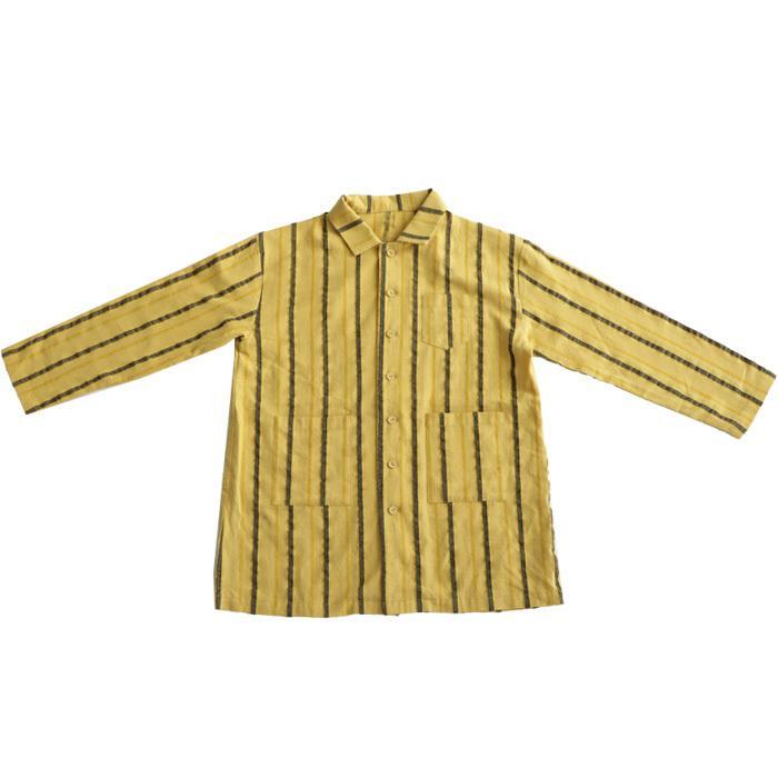 シャツ キッズシャツ シャツジャケット ストライプ キッズ 長袖・メール便不可 TOY antiqua 20