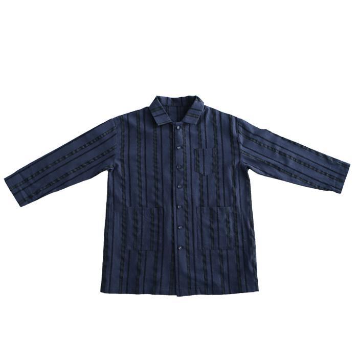 シャツ キッズシャツ シャツジャケット ストライプ キッズ 長袖・メール便不可 TOY antiqua 19