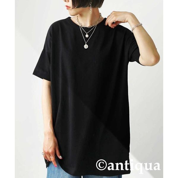 Tシャツ レディース トップス ゆったり プルオーバー 五分袖 綿100% 大きいサイズ・3月5日0時〜再再販。メール便不可 母の日|antiqua|22