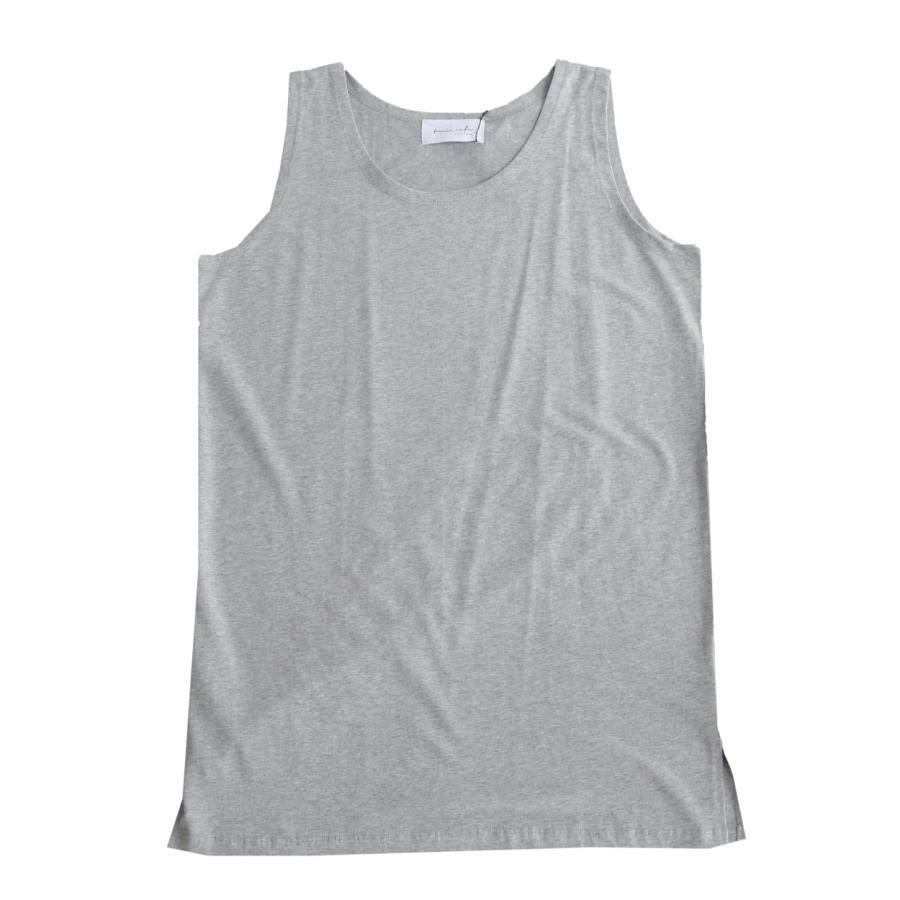 タンクトップ メンズ タンク 綿 綿100 コットン トップス シンプル・5月15日0時〜再再販。2新色追加 100ptメール便可|antiqua|24