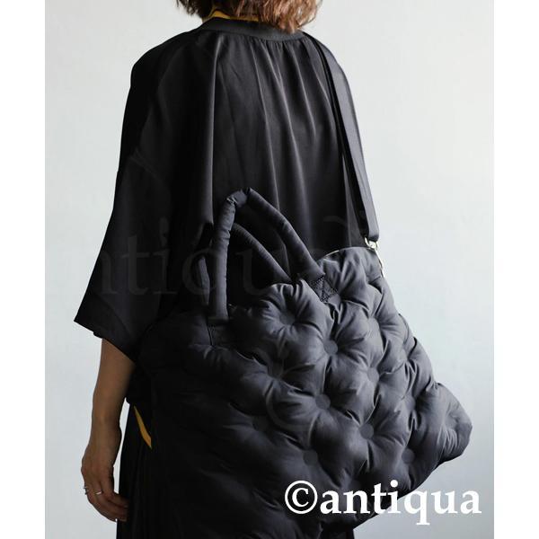 ボンディングボストン レディース 鞄 ショルダー 送料無料・4月20日0時〜再再販。メール便不可 母の日|antiqua|15