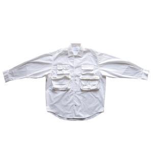 トップス シャツ ジャケット 長袖 メンズ 綿 綿100 フィッシングシャツ・メール便不可|antiqua|18