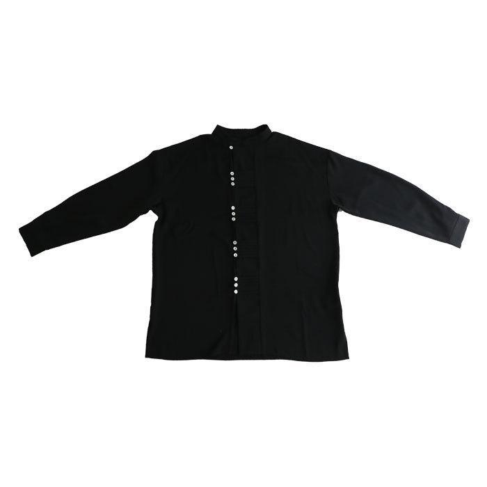デザインボタンシャツ シャツ メンズ トップス 送料無料・9月4日10時〜発売。メール便不可|antiqua|21