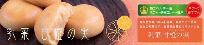ベルギー産ホワイトチョコレートとオレンジピール使用したコクのある餡を使用した甘橙の実(おれんじのみ)