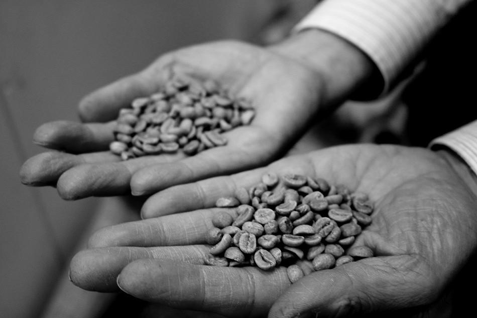 青海珈琲、コーヒー豆