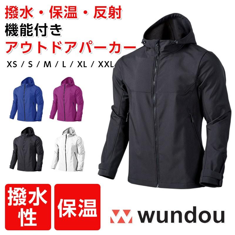 wundou ウンドウ p4210 アウトドアパーカージャケット