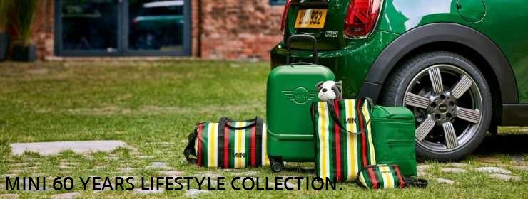 MINI 60 YEARS LIFESTYLE COLLECTION.