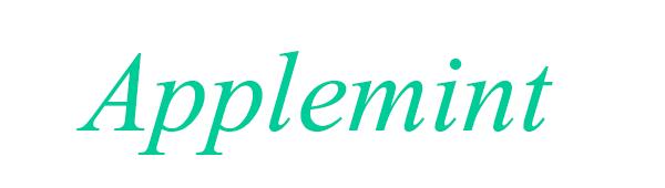 雑貨屋Applemint ロゴ