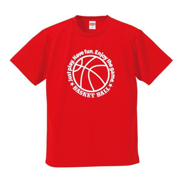 バスケットボール Tシャツ ドライ ウェア 練習着 チーム クラブ 全12色  BA701 送料無料|apricot-uns|10