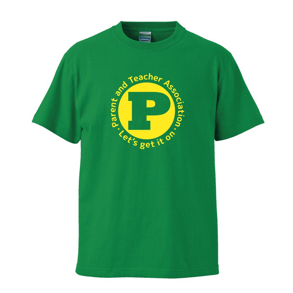 PTAのためのTシャツ〈Let's get it on〉全12色 P803 送料無料 会長 役員 委員 運動会 イベント|apricot-uns|10