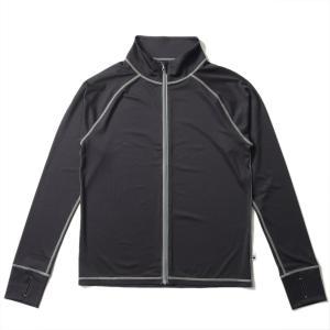 ラッシュガード メンズ HeleiWaho ヘレイワホ 長袖 ジップアップ フードなし UPF50+ で UVカット 大きいサイズ で 体型カバー aqrosnetshop 18