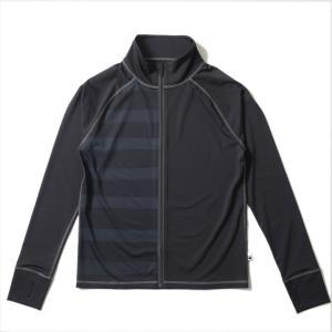 ラッシュガード メンズ HeleiWaho ヘレイワホ 長袖 ジップアップ フードなし UPF50+ で UVカット 大きいサイズ で 体型カバー aqrosnetshop 20