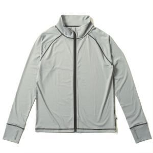 ラッシュガード メンズ HeleiWaho ヘレイワホ 長袖 ジップアップ フードなし UPF50+ で UVカット 大きいサイズ で 体型カバー aqrosnetshop 19