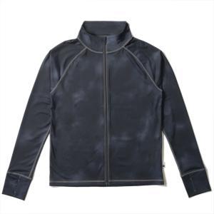ラッシュガード メンズ HeleiWaho ヘレイワホ 長袖 ジップアップ フードなし UPF50+ で UVカット 大きいサイズ で 体型カバー aqrosnetshop 22